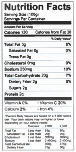 Mr. Dees Roasted Red Potatoes Garlic Parmesan Nutrition Facts